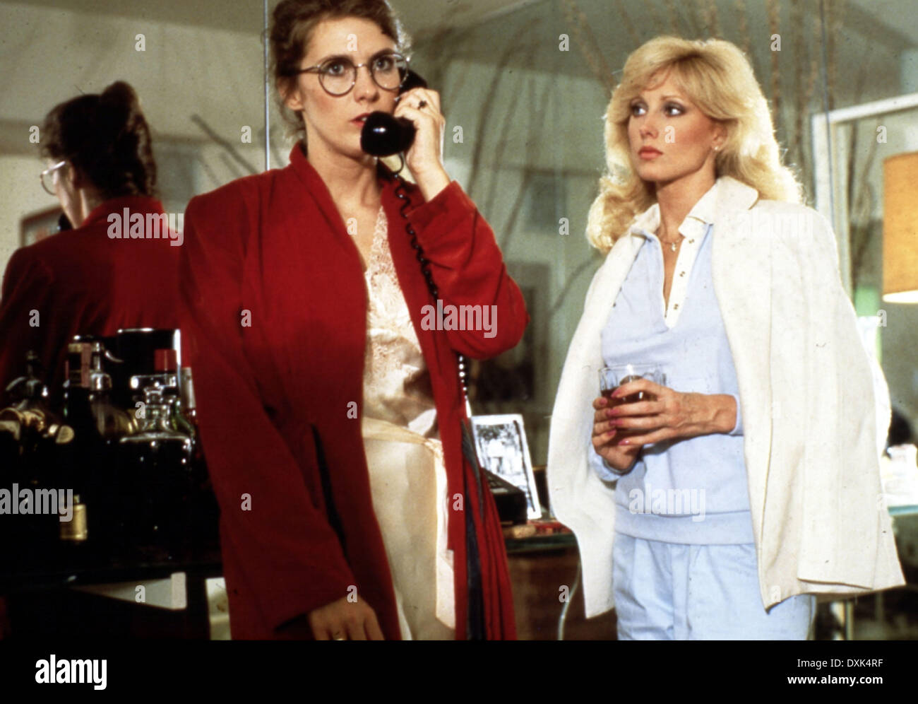 THE SEDUCTION (US1982) COLLEEN CAMP, MORGAN FAIRCHILD - Stock Image