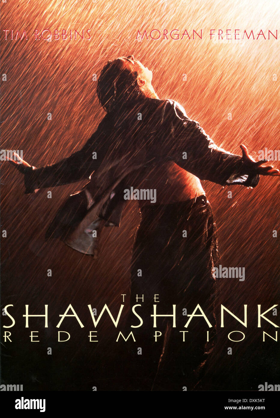THE SHAWSHANK REDEMPTION - Stock Image