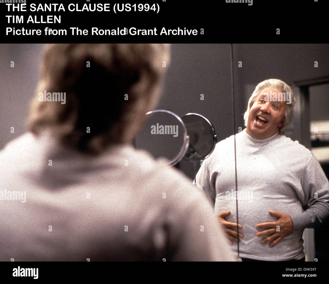 THE SANTA CLAUSE - Stock Image