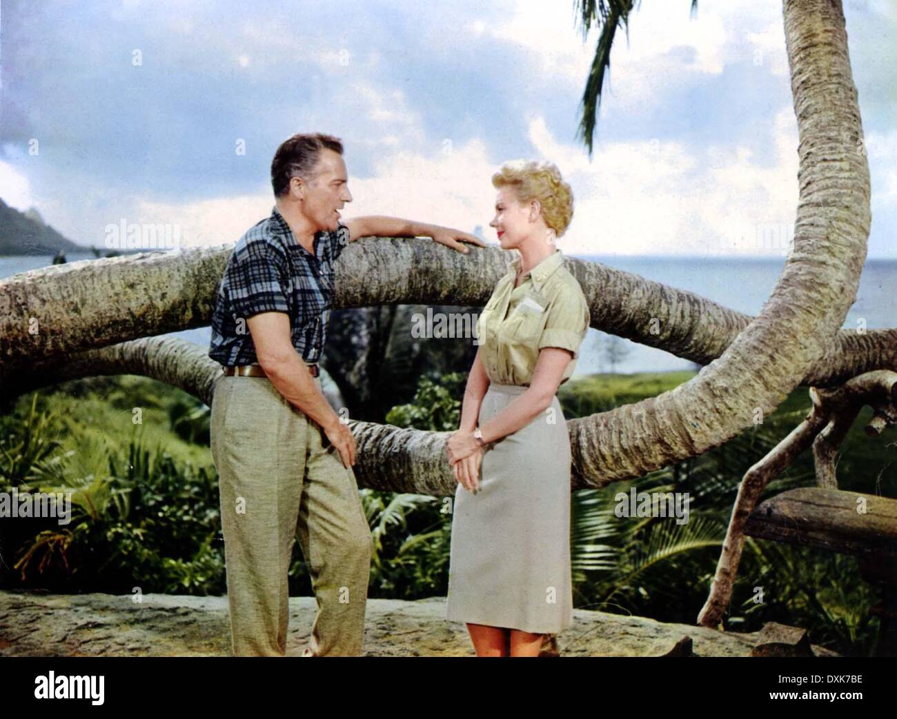 SOUTH PACIFIC - Stock Image