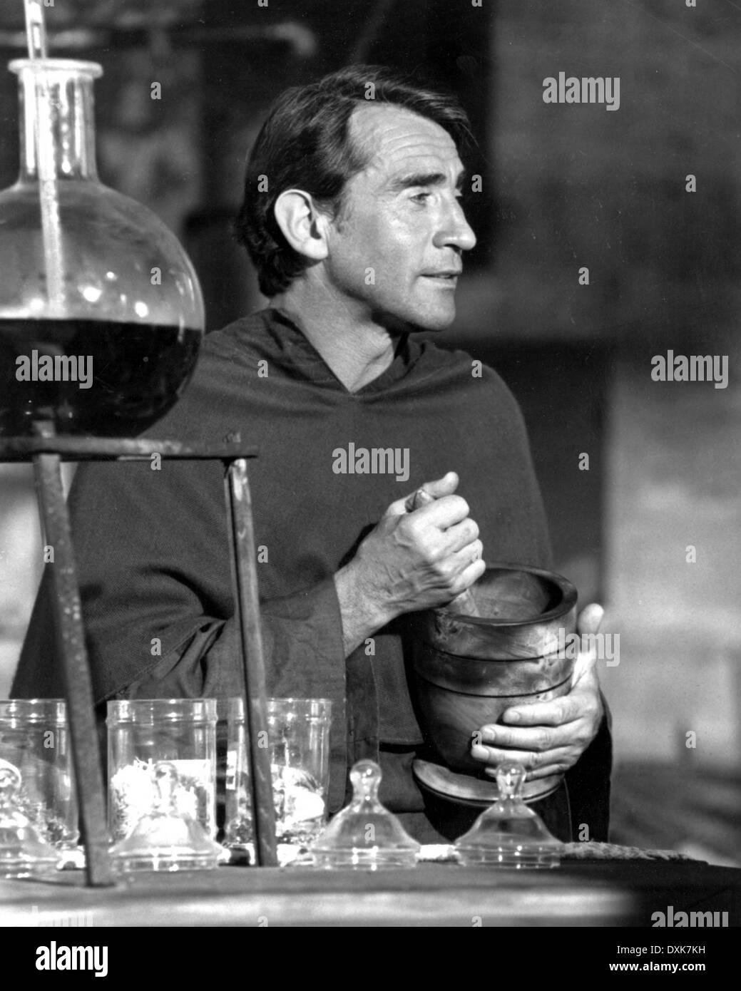 SQUEEZE A FLOWER (AUS 1970) WALTER CHIARI  APOTHECARY Stock Photo