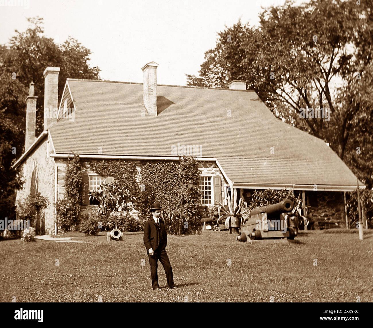 George Washington's HQ at Newburgh USA early 1900s - Stock Image