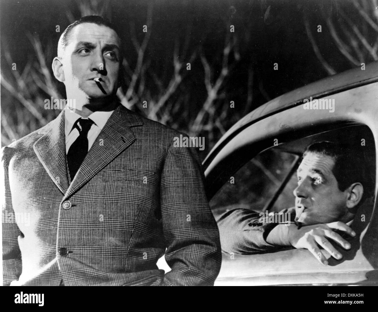 #phs.012399 Photo LINO VENTURA /& JEAN GABIN TOUCHEZ PAS AU GRISBI 1953