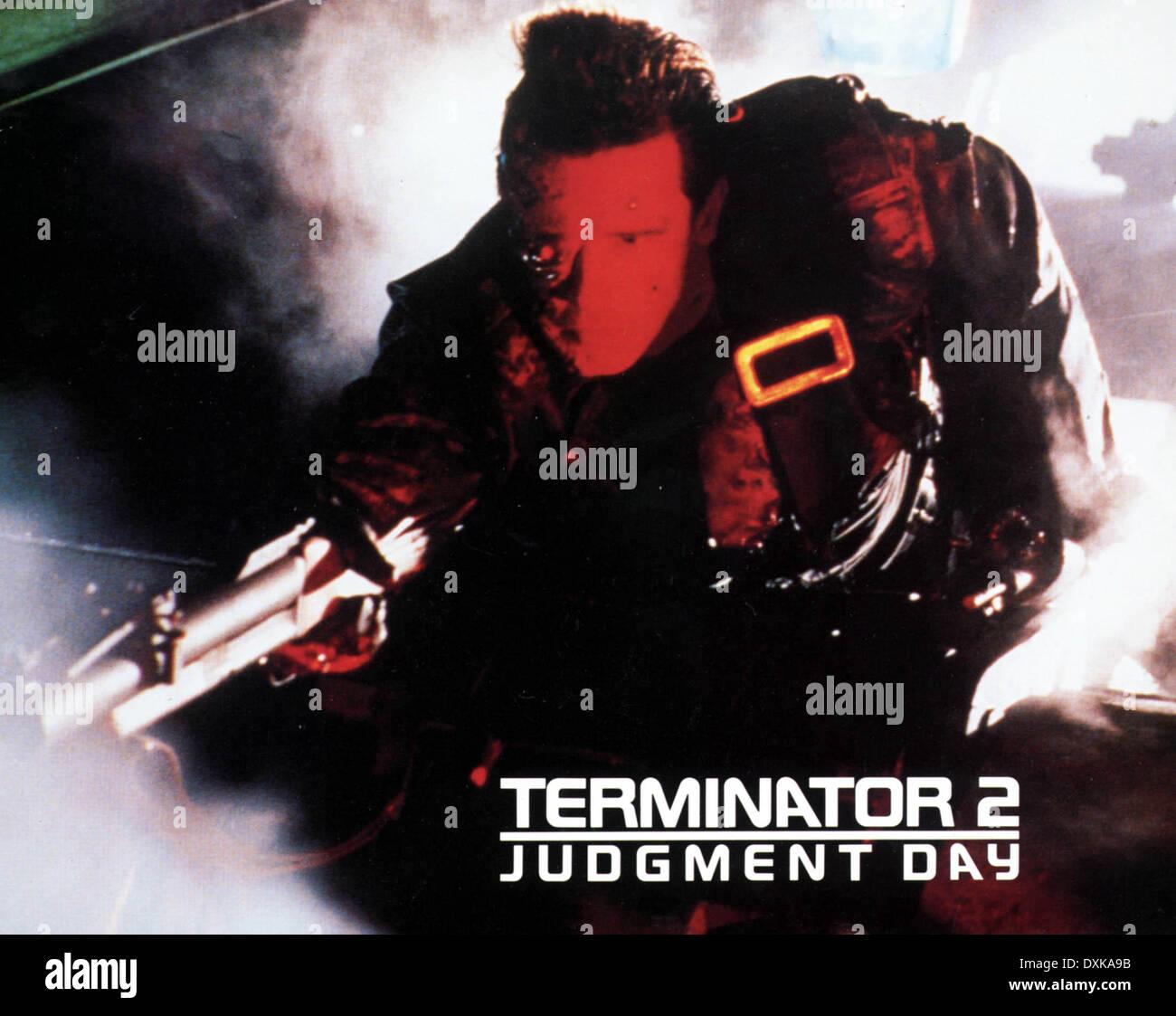 TERMINATOR 2  JUDGEMENT DAY - Stock Image