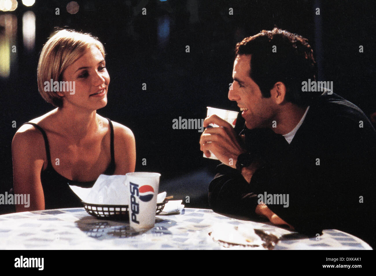 THERE'S SOMETHING ABOUT MARY (US1998) CAMERON DIAZ, BEN STIL - Stock Image