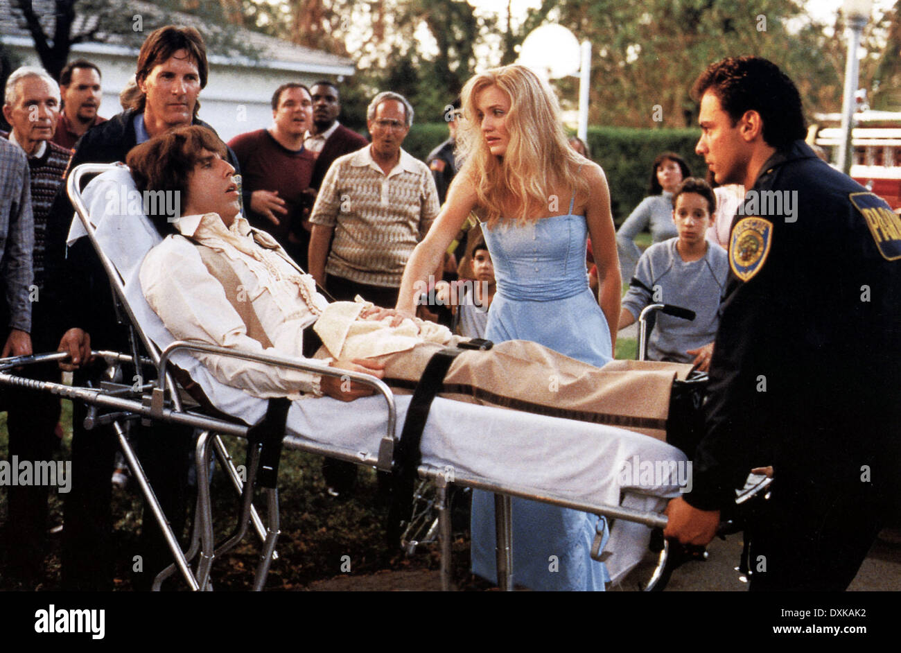 THERE'S SOMETHING ABOUT MARY (US1998) BEN STILLER, CAMERON D Stock Photo