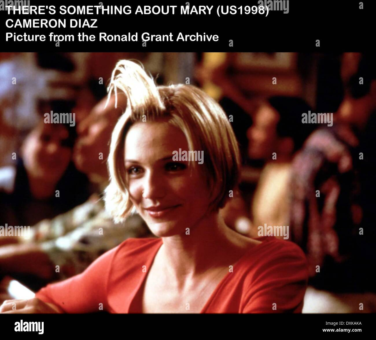 THERE'S SOMETHING ABOUT MARY - Stock Image