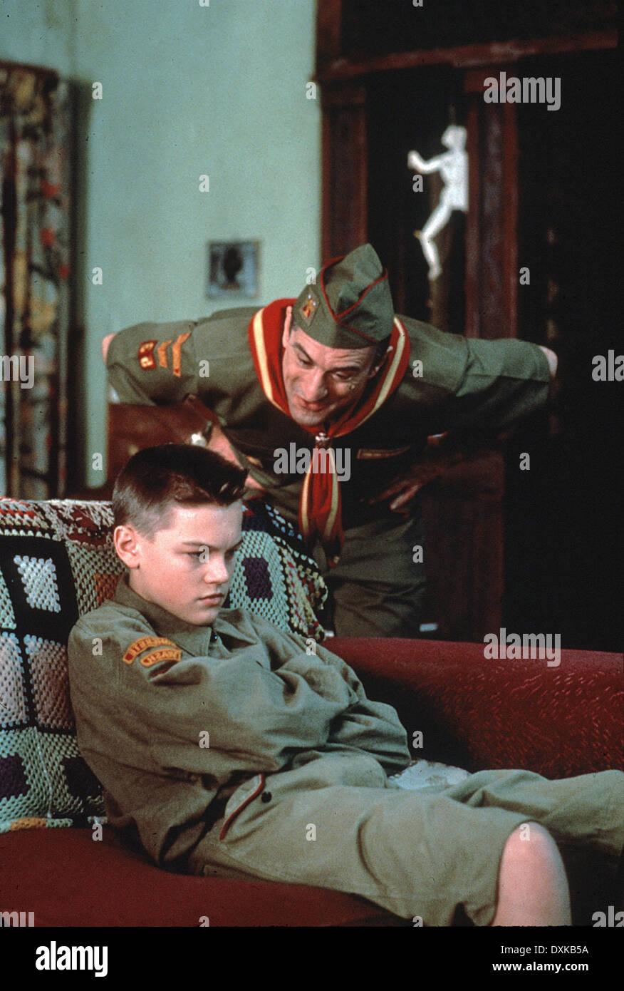 THIS BOY'S LIFE (US1993) LEONARDO DICAPRIO, ROBERT DE NIRO - Stock Image