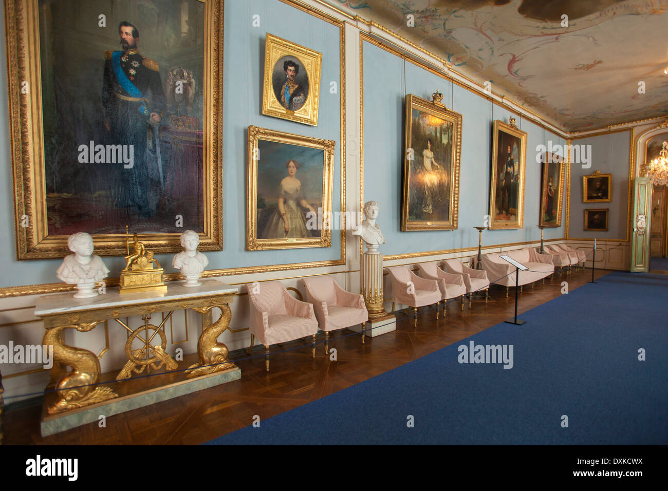 Sweden stockholm royal palace interiors