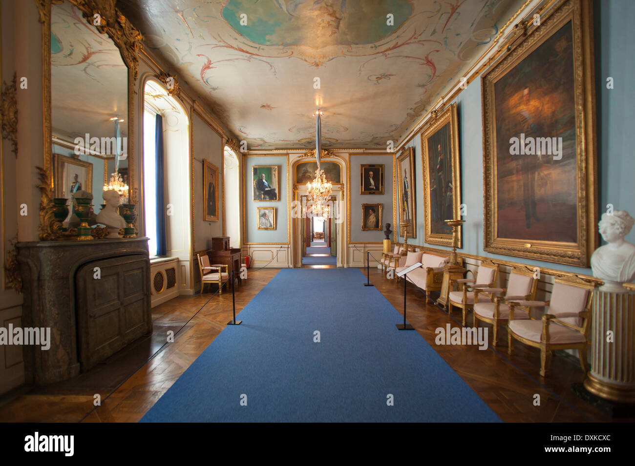 Ordinaire Sweden, Stockholm, Royal Palace Interiors   Stock Image