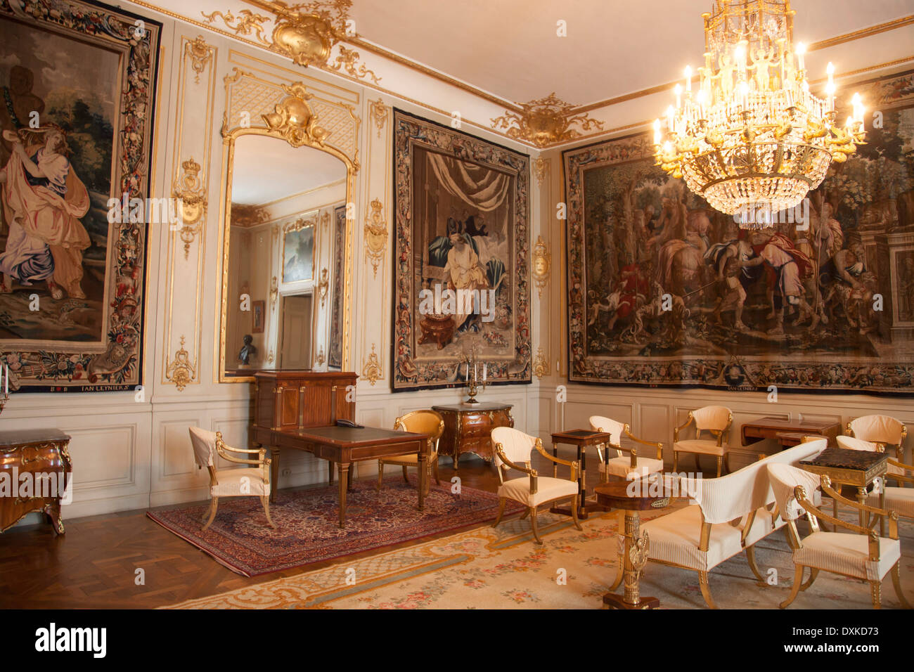 Merveilleux Sweden, Stockholm, Royal Palace Interiors