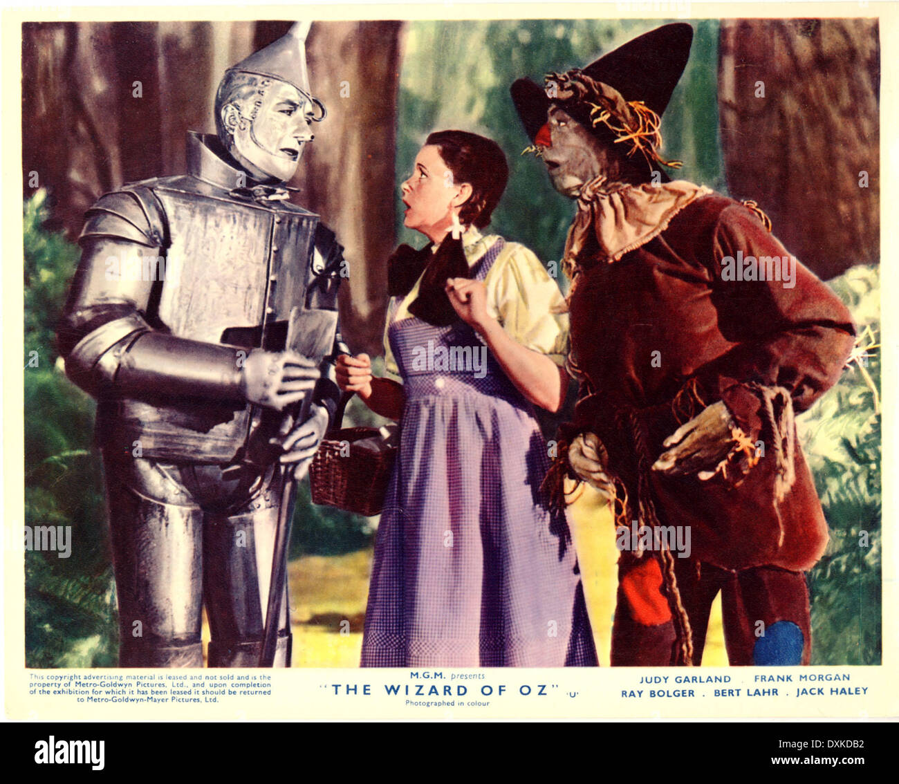 THE WIZARD OF OZ - Stock Image
