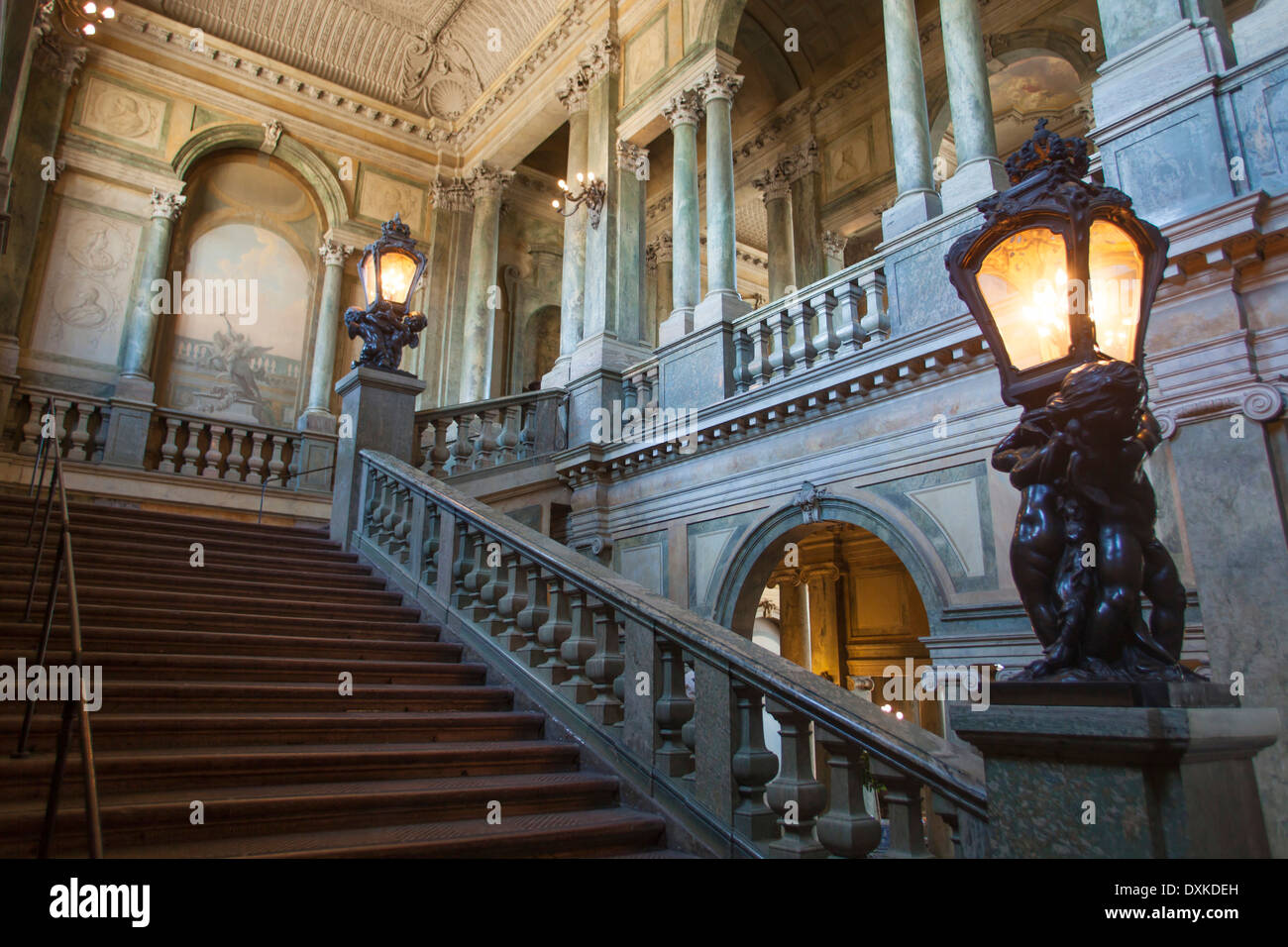 Sweden, Stockholm, Royal Palace Interiors   Stock Image