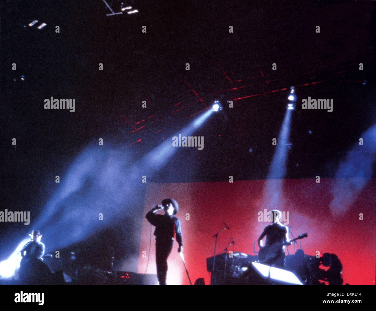 U2: RATTLE AND HUM - Stock Image