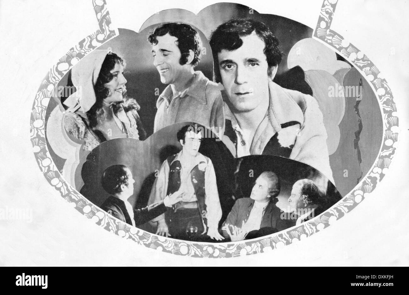 THE LOVES OF ROBERT BURNS - Stock Image