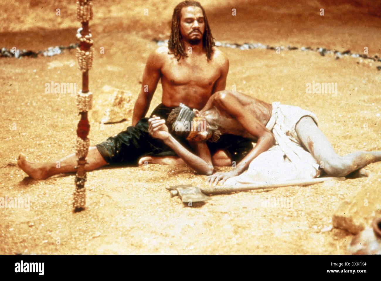 THE MAHABHARATA (UK/FR 1989) JEFFREY KISSOON (Karna), SOTIGU - Stock Image