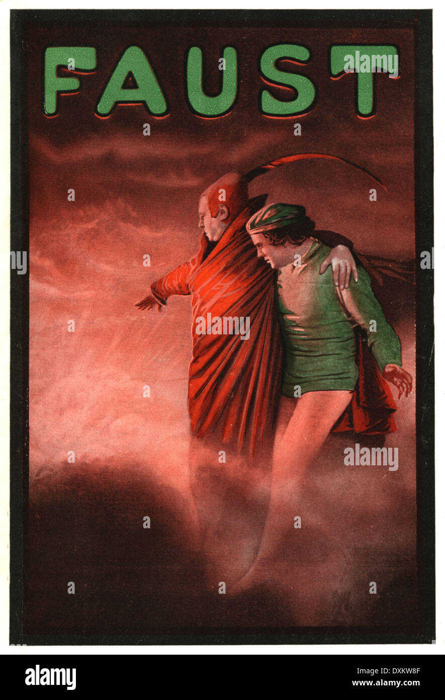 FAUST - Stock Image
