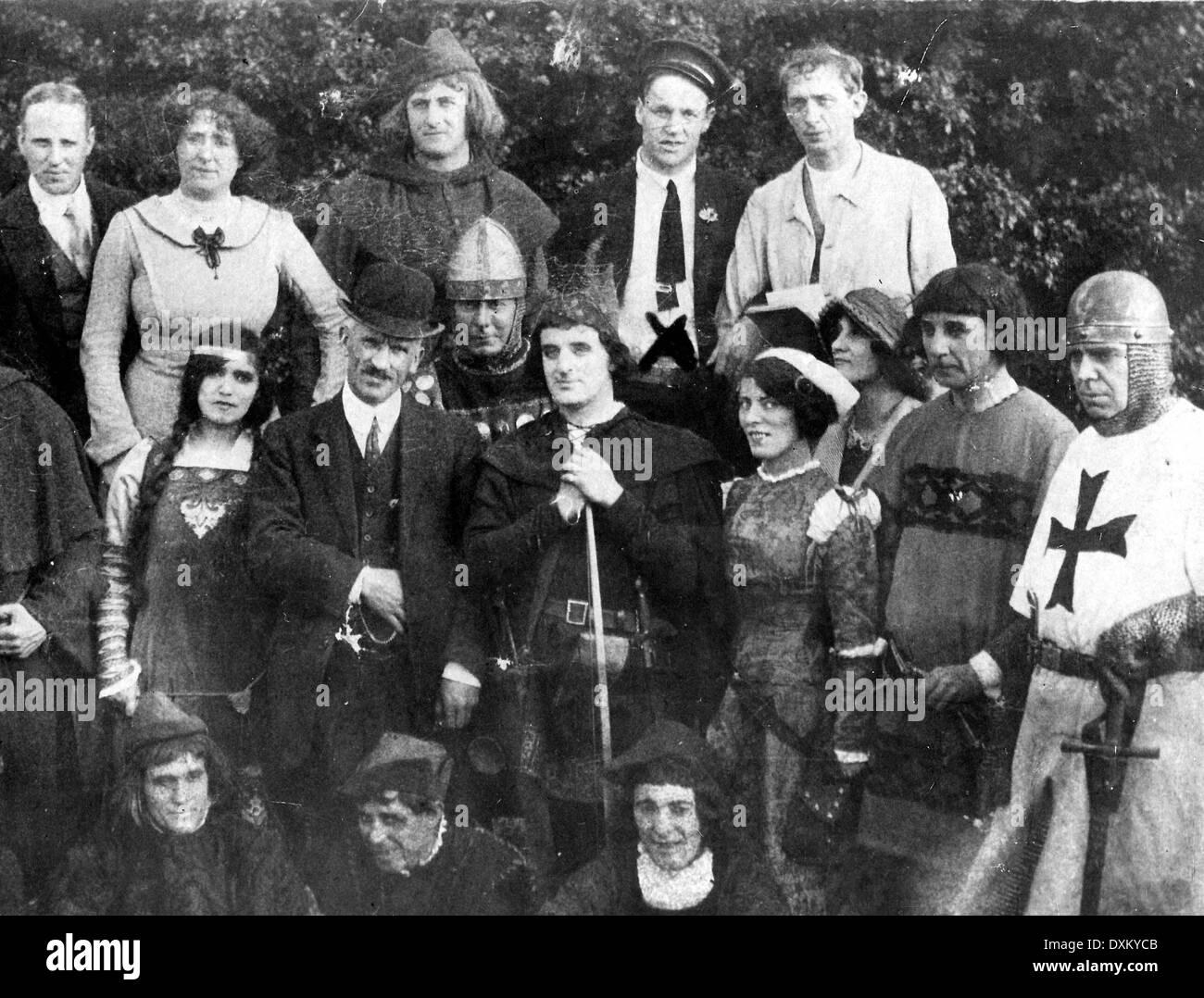 ROBIN HOOD OUTLAWED - Stock Image