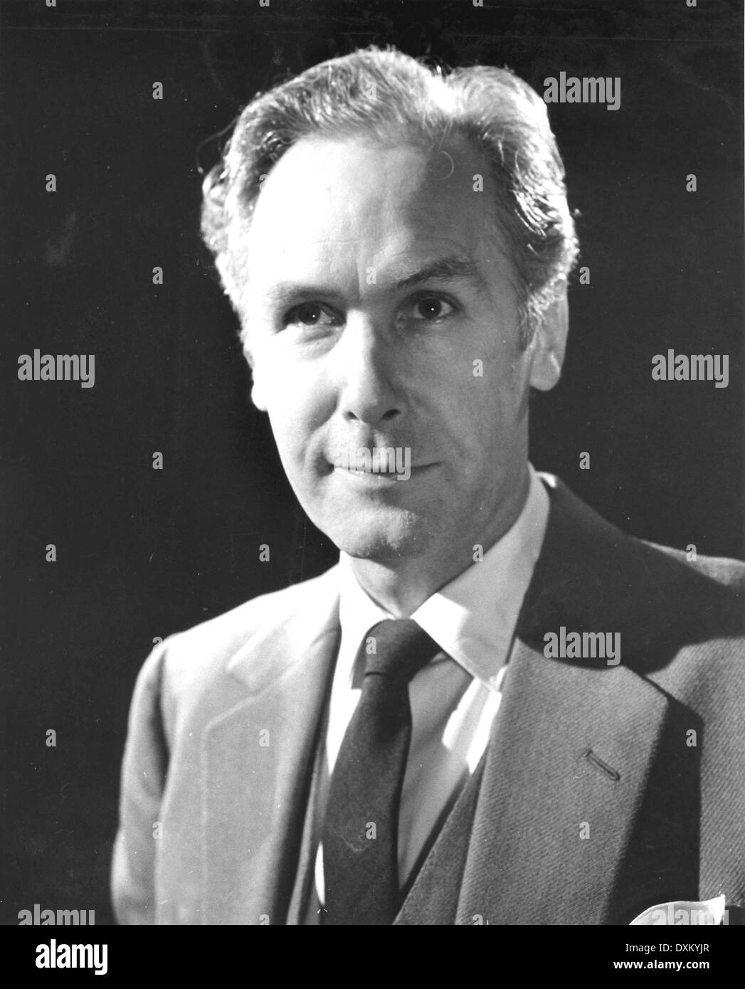 British actor GRIFFITH JONES as he appears in the Harold Pin - Stock Image