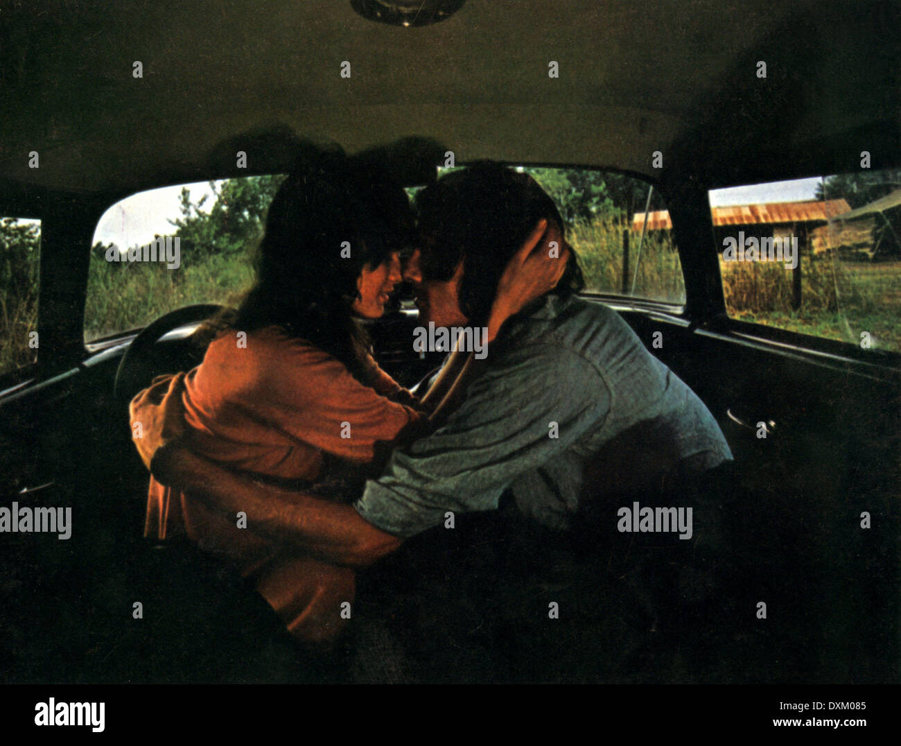 TWO-LANE BLACKTOP - Stock Image