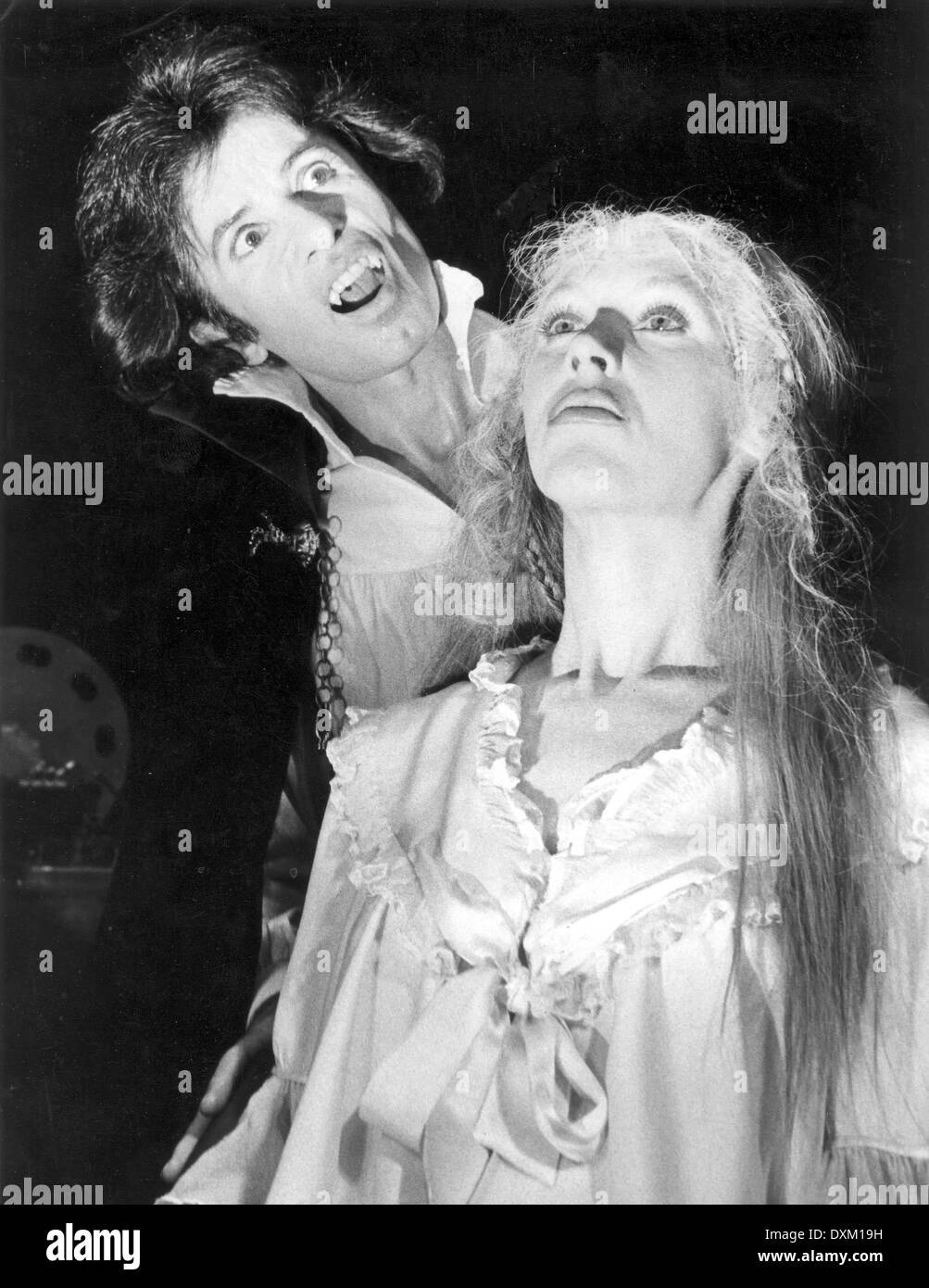 THE PASSION OF DRACULA Stock Photo