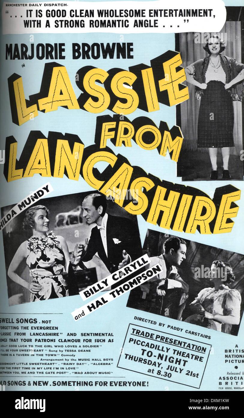 LASSIE FROM LANCASHIREStock Photo