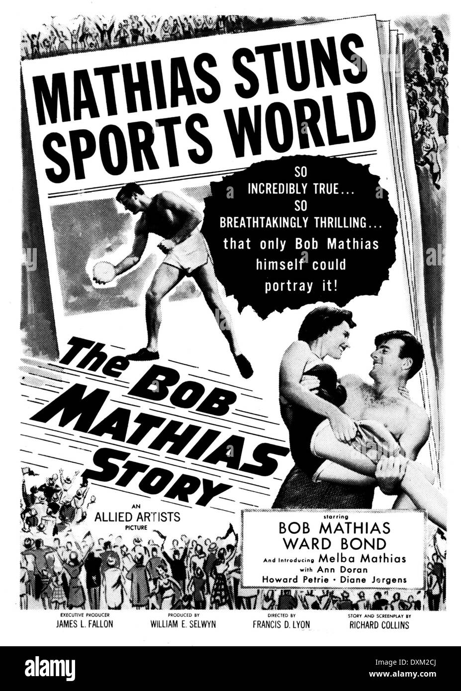 THE BOB MATHIAS STORY - Stock Image
