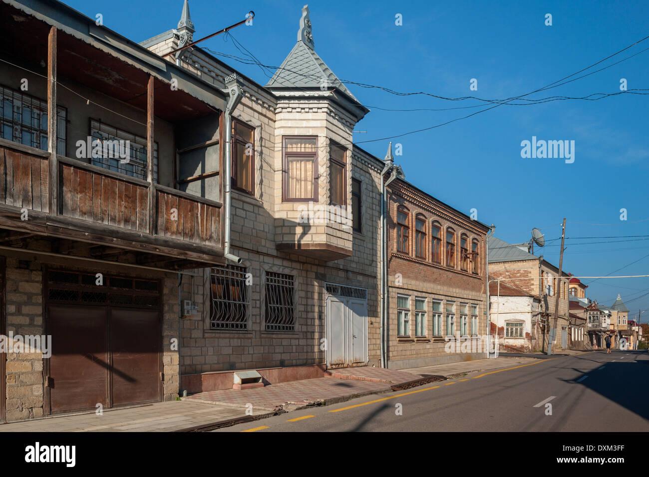 Jewish Town of Quba, Azerbaijan - Stock Image
