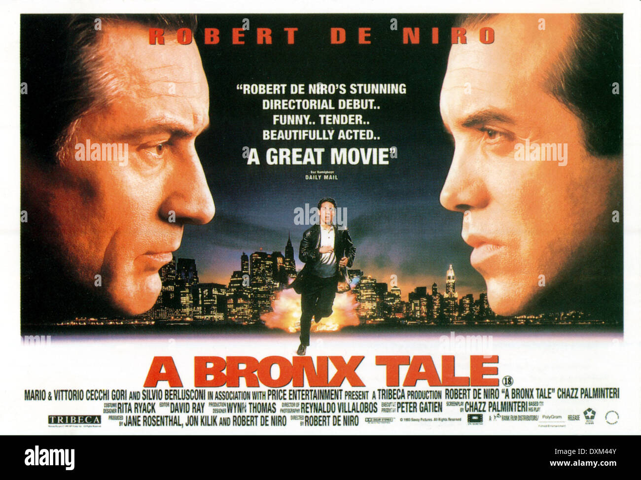 movie review a bronx tale Movie review: a bronx tale the choices you make will shape your life forever, a quote that haunts several characters throughout the movie a bronx tale calogero (also known as cee), played by francis capra (age 9) and by lillo brancato(age 17) , narrates his story about growing up in the bronx, new york in the 1960's.