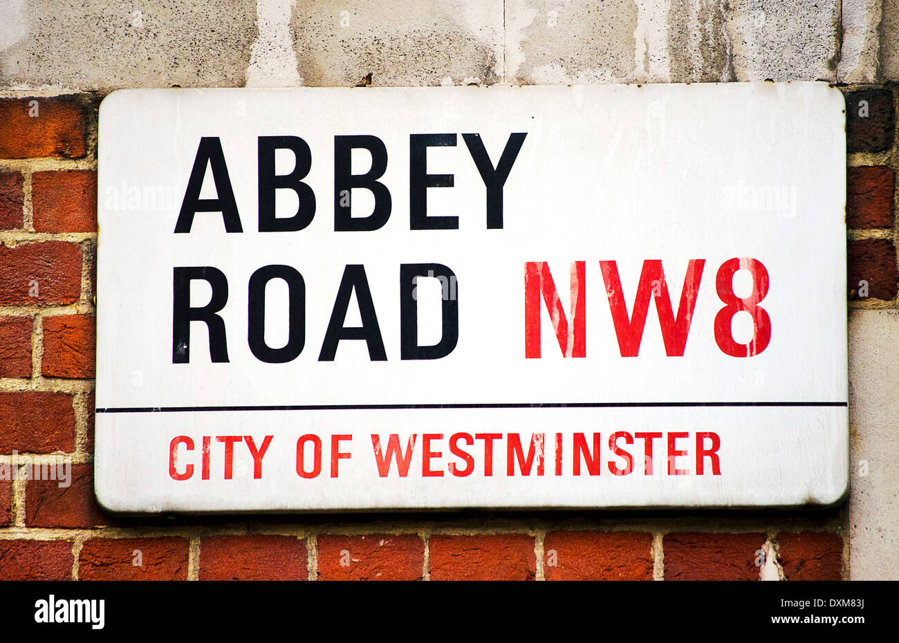 Abbey Road - Stock Image