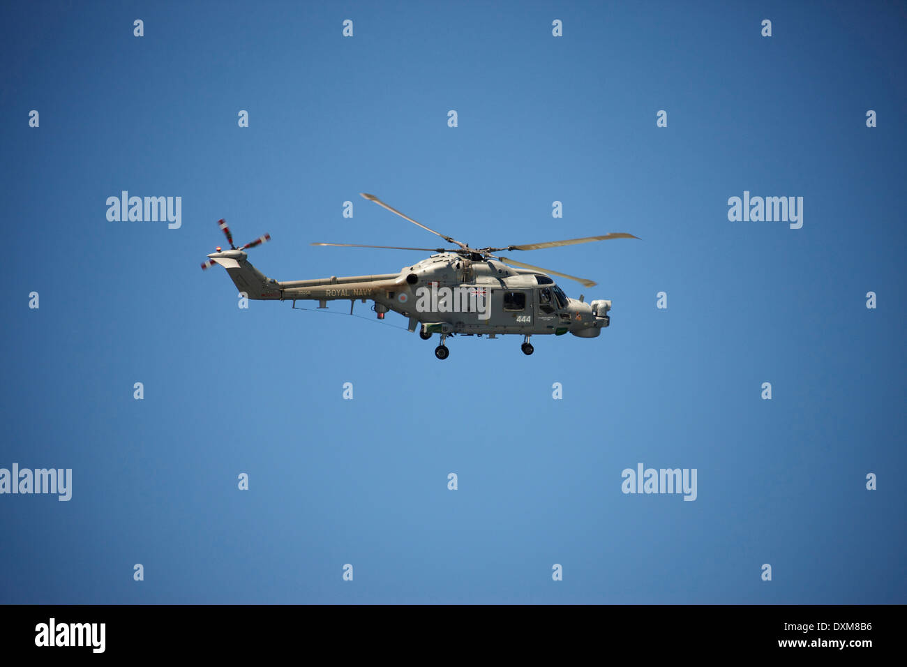 South Africa, Military helicopter,mid-air - Stock Image