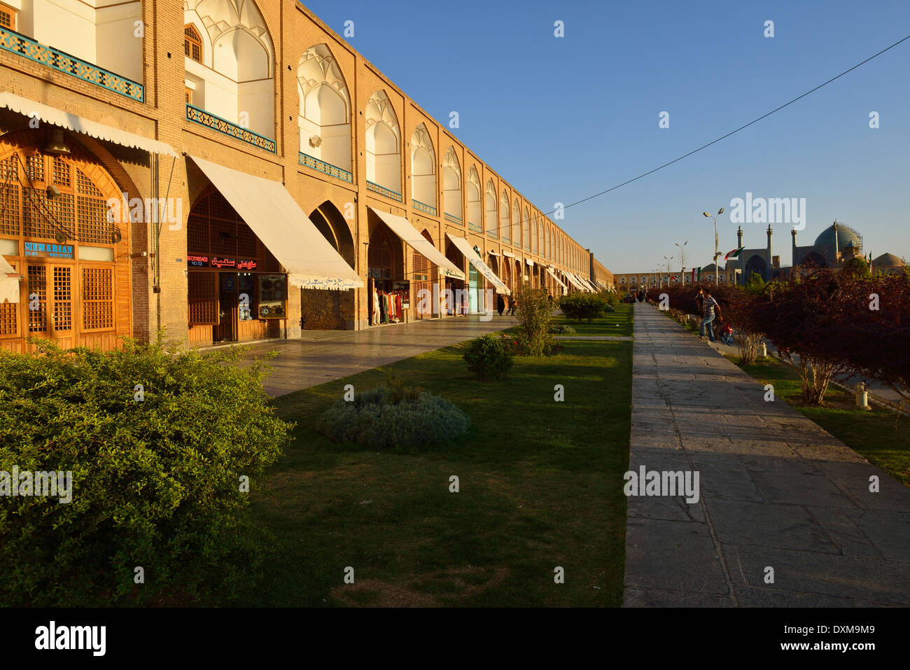 Iran, Isfahan, Meidan-e Emam, Naqsh-e Jahan, Imam Square - Stock Image