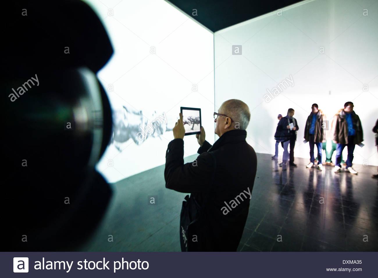 Italy, Veneto, Venice, Biennale of Architecture - Stock Image