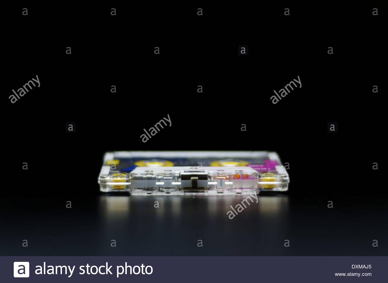 Audio cassette tape - Stock Image