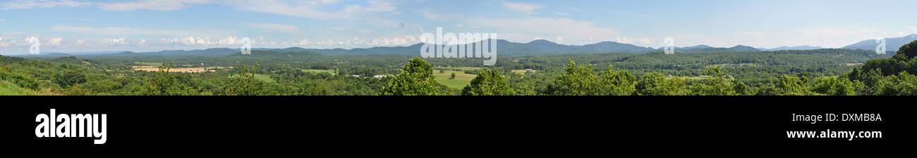 Virginia farm country. - Stock Image