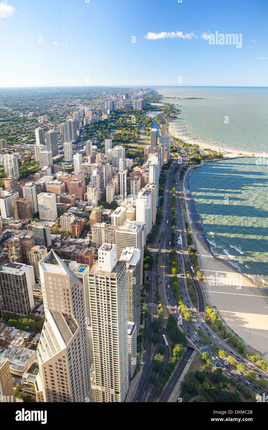 Chicago, Illinois, United States of America, Lake Michigan - Stock Image