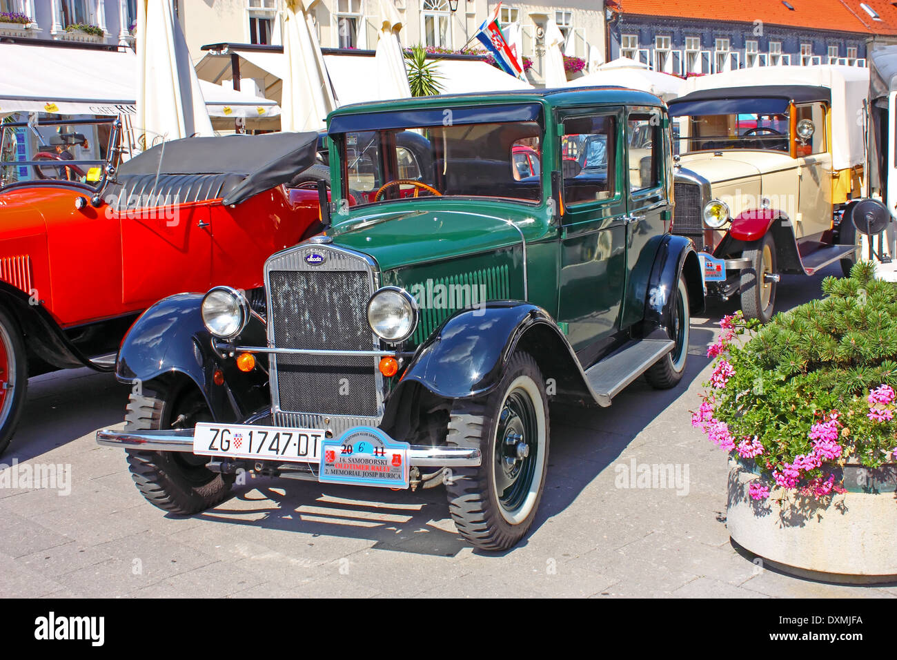 Luxury Car Laurin and Clement, Skoda 120, ''14. Oldtimer Rally'' in Samobor, July 17, 2011, in Samobor, Croatia - Stock Image