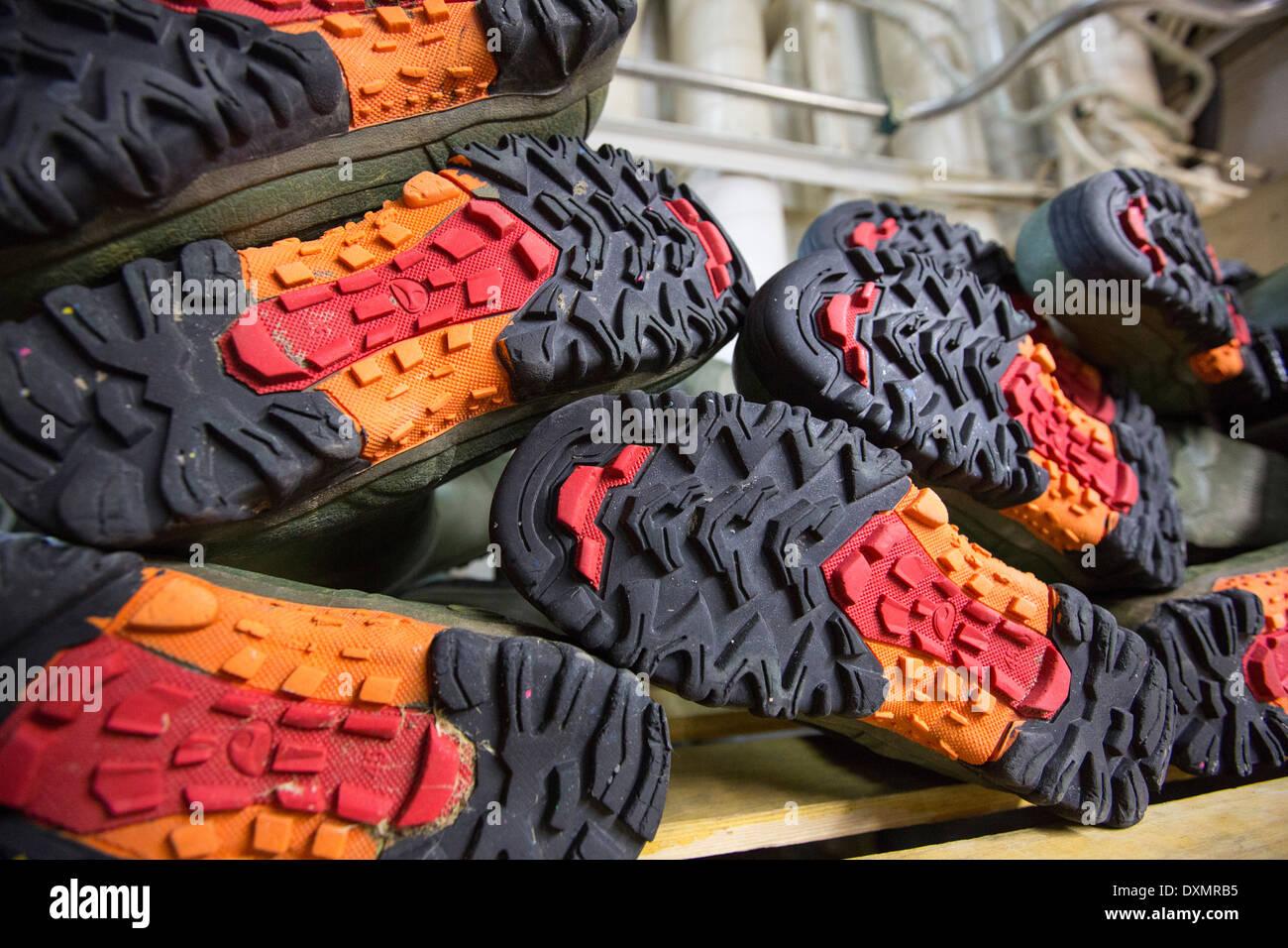 Wellingotn boots. - Stock Image