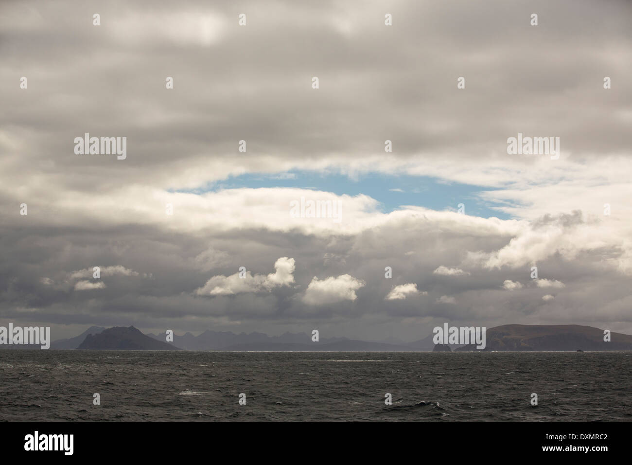 Cape Horn at the southern tip of South America. - Stock Image