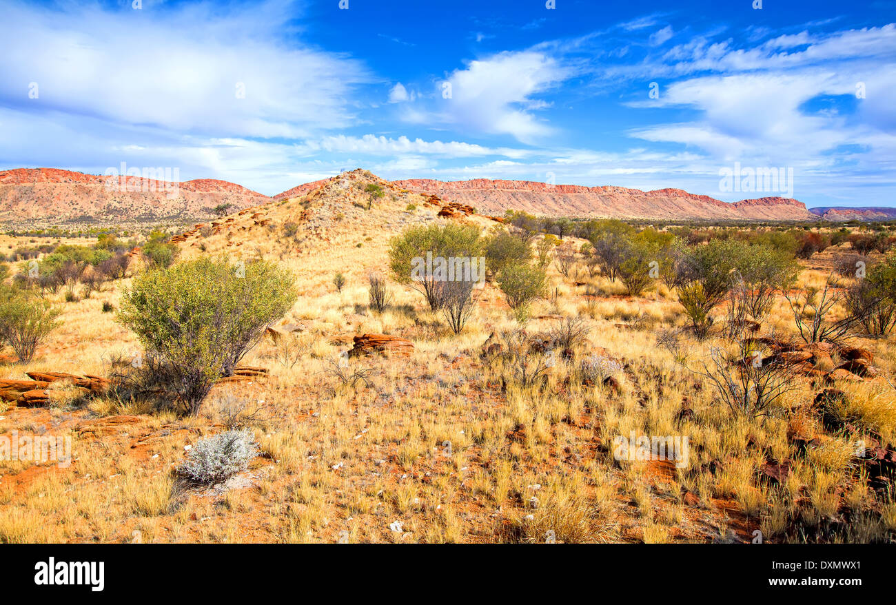 West MacDonnell Ranges Central Australia Northern Territory - Stock Image