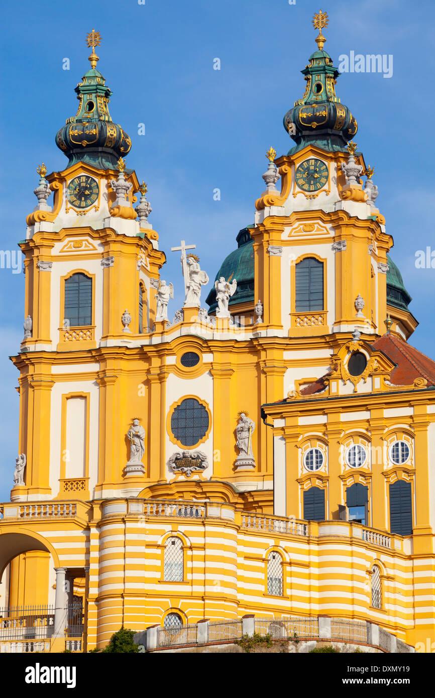 Melk Abbey, Melk, Austria - Stock Image