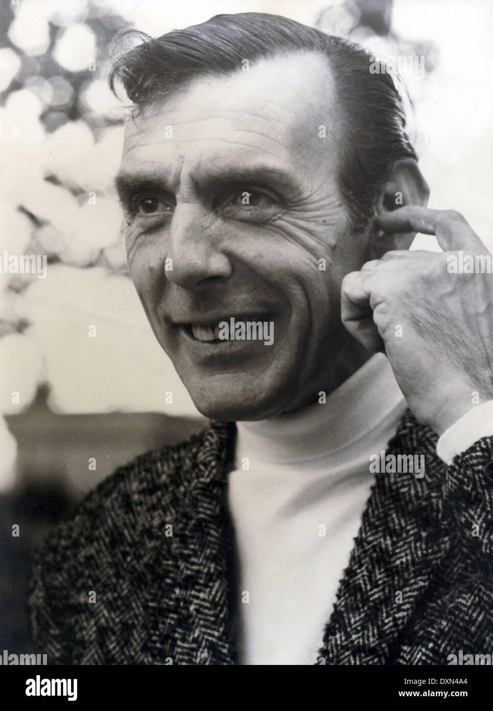 ERIC SYKES  publicity from THE SPY WITH A COLD NOSE - Stock Image