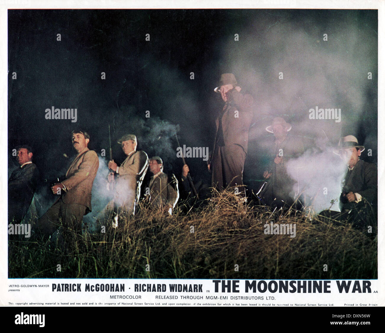THE MOONSHINE WAR - Stock Image