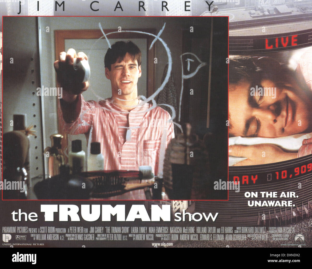the truman show belonging The truman show is a 1998 american satirical science fiction film directed by peter weir, produced by scott rudin, andrew niccol, edward s feldman, and adam schroeder, and written by niccol.