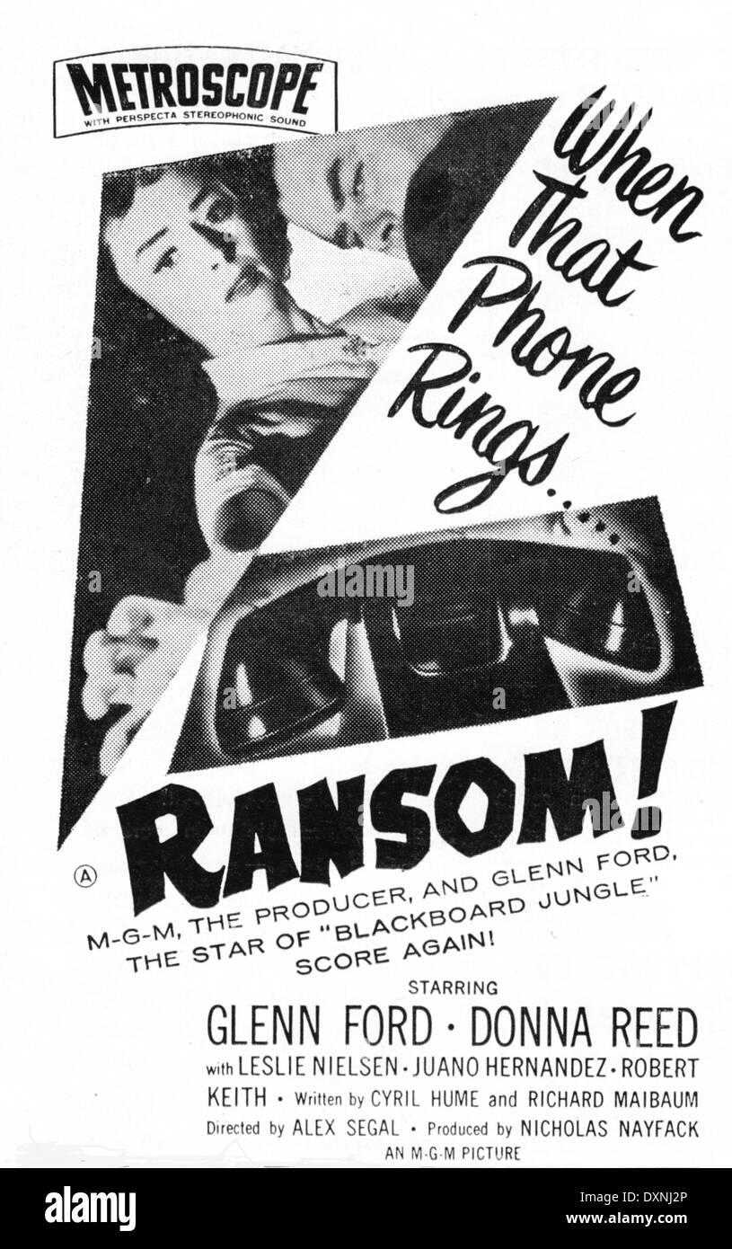 RANSOM - Stock Image