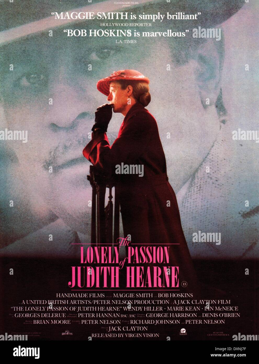 Lonely Passion of Judith Ahearne Poster - Stock Image