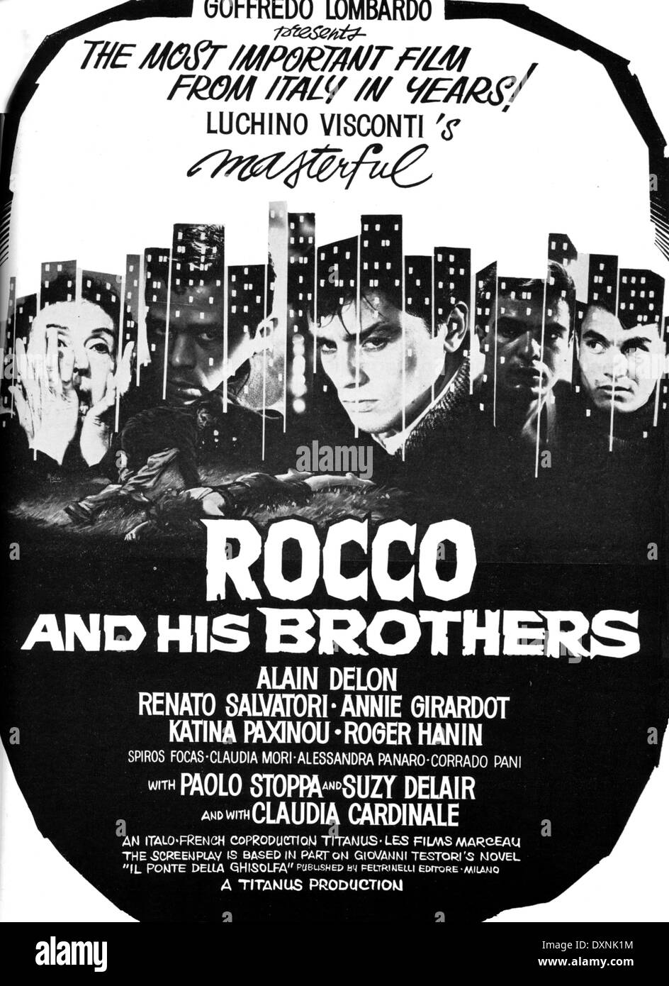Rocco E I Suoi Fratelli Film High Resolution Stock Photography And Images Alamy