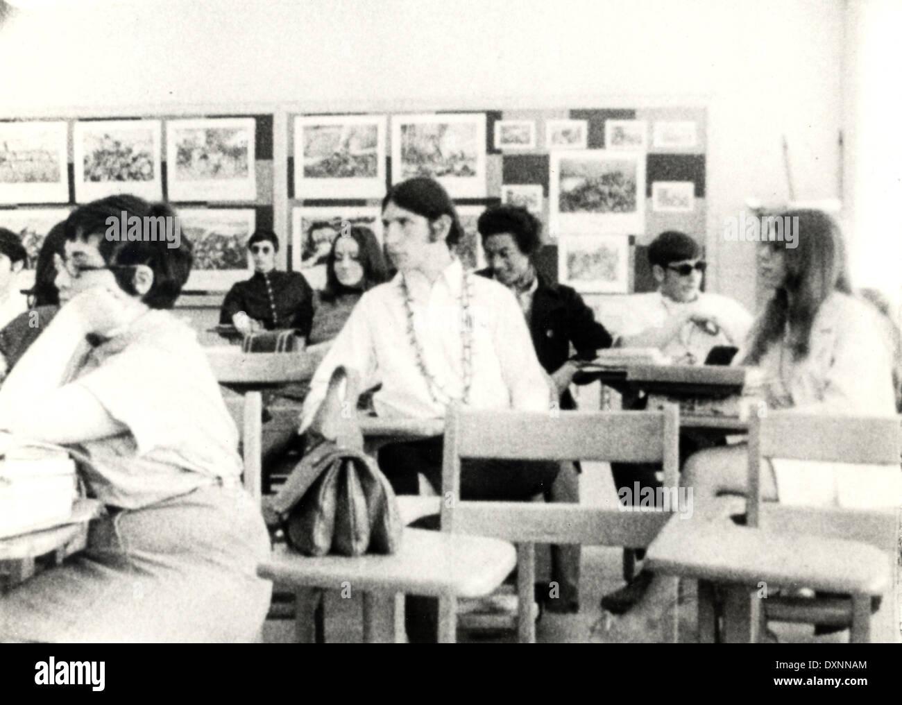 HIGH SCHOOL - Stock Image