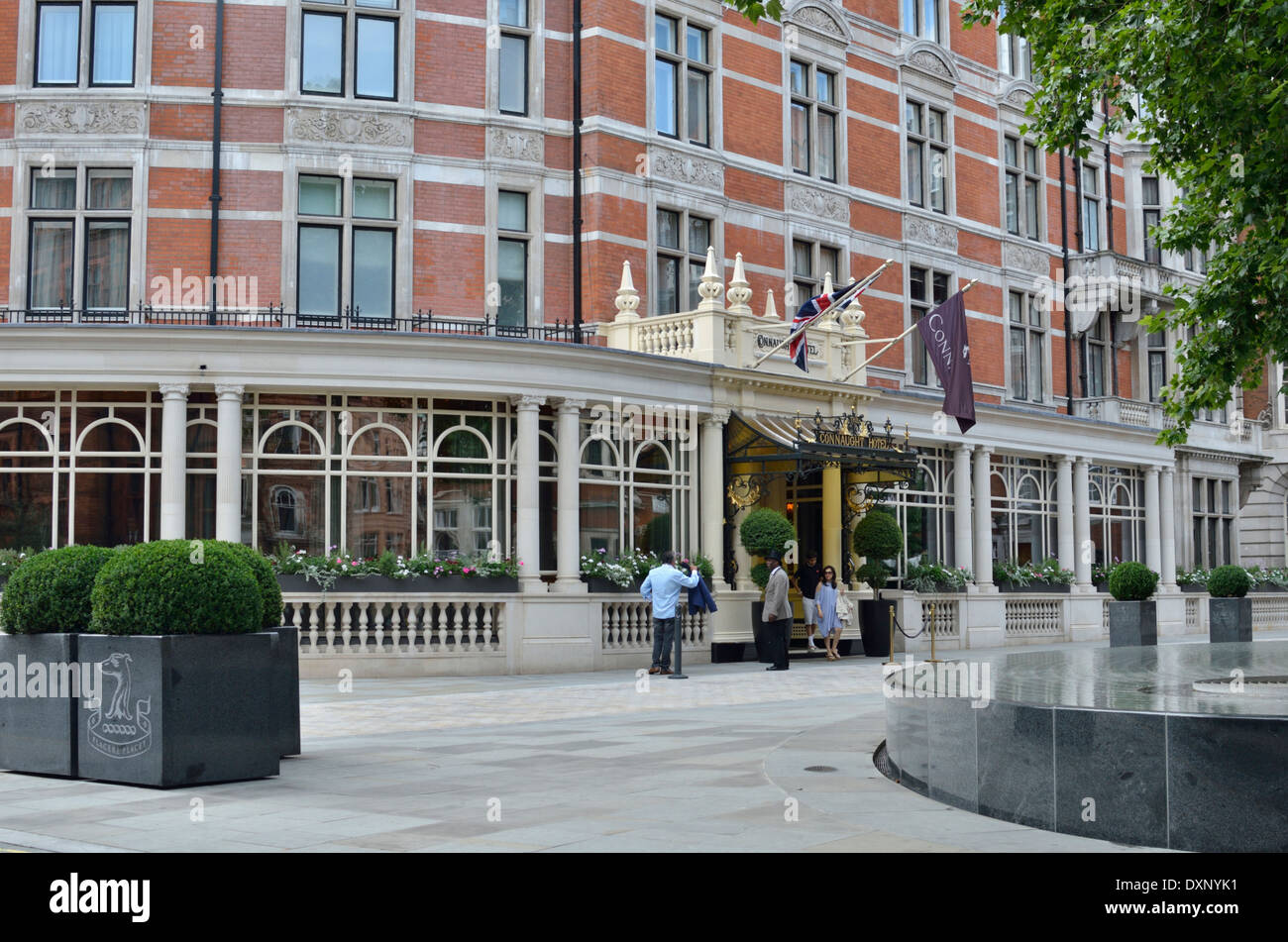 The Connaught Hotel, Mayfair, London, UK. - Stock Image