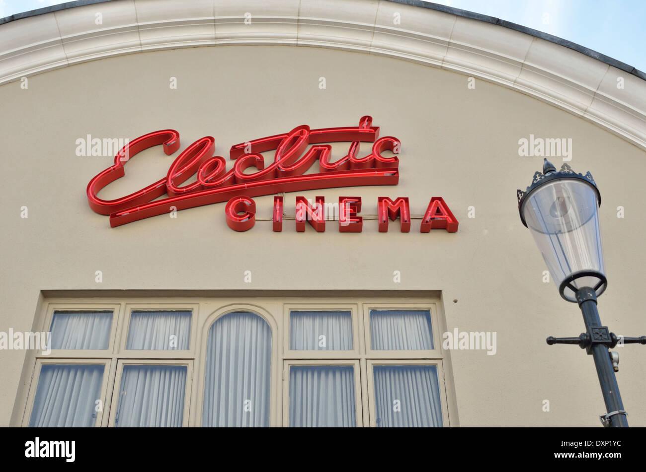 The Electric Cinema in Portobello Road, Notting Hill, London, UK. - Stock Image